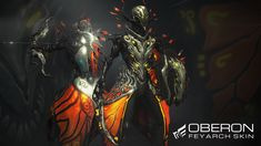 Oberon Feyarch Collection available now! | Warframe