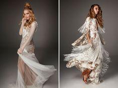Bohemian Wedding Dresses, Boho Bride, Wedding Dress Styles, Designer Wedding Dresses, Wedding Attire, Love Spells, Green Wedding Shoes, Bridal Gowns, Collection