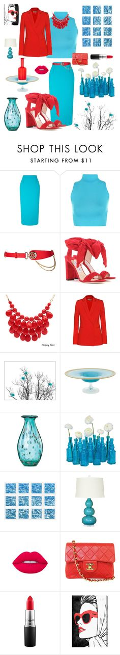 """""""Summer Skirts"""" by kotnourka ❤ liked on Polyvore featuring Roland Mouret, WearAll, Jimmy Choo, Alexa Starr, Emilio Pucci, Lenox, Cultural Intrigue, William Stafford, Bungalow 5 and Lime Crime"""