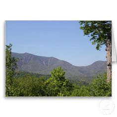South Hancock Mountain New Hampshire Blank Greeting or Note Card zazzle.com/capecodgiftshop