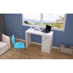 Mendocino Oleander Classic Work Desk, White