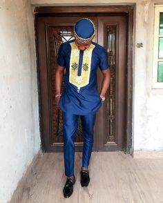 Chemise africain Mens vêtements africains pour hommes African #AfricanFashion