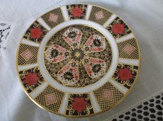 Royal Crown Derby 1128 Imari Plate dated 1978. Side Plate Tableware 1st Quality Excellent condition Gift idea by SwallowCAntiques on Etsy