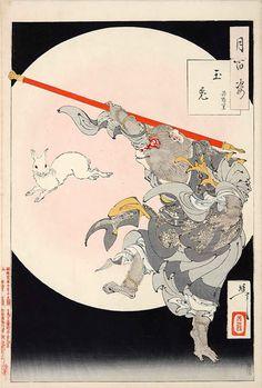 Illustration by Yoshitoshi Tsukioka, 1886.