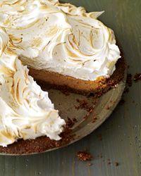 Sweet Potato Meringue Pie // More All-American Recipes: http://fandw.me/peI #foodandwine