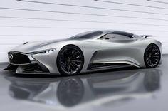 The Infiniti Concept Vision Gran Turismo joins a series of virtual concept cars created specifically for Gran Turismo Lamborghini, Ferrari, Bugatti, Maserati, Us Cars, Sport Cars, Supercars, Porsche 918 Spyder, Automobile