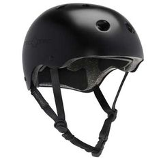 Thanks to a CPSC/CE certified protection against impacts you can skate worry-free with the Pro-Tec Classic Multi-Sport helmet. A classic satin black hardshell features a EPS foam that meets CPSC/CE safety standards for impacts for reliable protect Skateboard Helmet, Bicycle Helmet, Bike, Green Warriors, Black Helmet, Sports Helmet, Cool Skateboards, Skate Park, Classic Man
