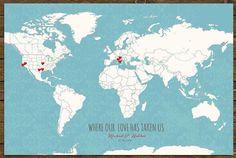 World sticker map cotton anniversary heart stickers world map world sticker map cotton anniversary heart stickers world map gift for husband wife husband wife gift world map with gumiabroncs Images