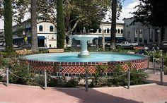 Old Town Orange Central Plaza Fountain