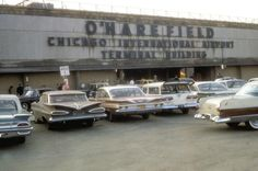 O'Hare Field, Chicago, 1960s Chicago Area, Chicago Illinois, O'hare International Airport, Chicago Pictures, Chicago Neighborhoods, My Kind Of Town, Back In The Day, American History, City