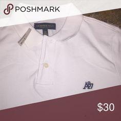 NWT White Aeropostale Polo Shirt NWT White Aeropostale Polo Shirt Aeropostale Shirts Polos
