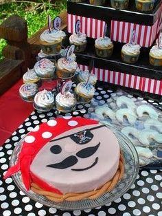 Piratas . Estás buscando una linda decoración de fiestas de cumpleaños infantiles de Piratas , aquí en el blog Fiestas y todo Eventos , te t...