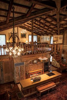 Photo Credit: Hollis Bennett. The kitchen of this Dixon house, in Tennessee, is covered in Portuguese cork.