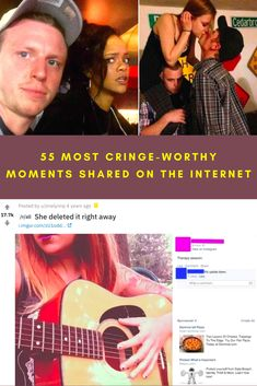 From oversensitive responses to messages meant to be private, we've found some of the most cringe-worthy moments on the Internet. It's clear from these 55 photos, texts, and posts that people either need to chill WAY out or be much more aware of their situations. See if you can read these without feeling downright embarrassed for humanity.