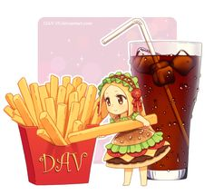 Chibburger by *DAV-19 on deviantART