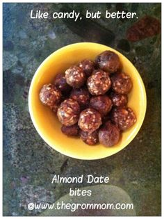 Almond Date Bites
