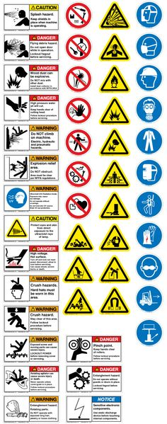 Educate Yourself With These Safety Symbols And Meanings Pinterest