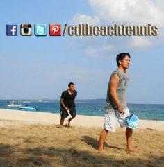 Monday High!    #philippinebeachtennis #beachtennisphilippines #PHBeachTennis #itsmorefuninthephilippines #fadysports #tobys #philippines #beaches #beachsport #fun #sand #summer #sun #sports #CDLbeachtennis #fady #beachtennis #olympicbeachtennis