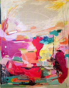 "Michelle Armas, ""Colorfultacular"" 48x60 
