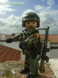 Contemporary Spanish Soldier 02