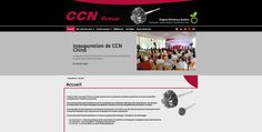 Refonte graphique du site internet institutionnel CCN GROUP. http://www.ccn-group.fr