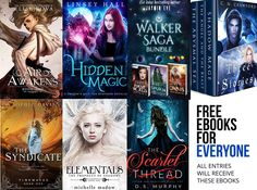 Win *14* bestselling fantasy paperbacks, and get eleven FREE ebooks just for entering! That's right – once the giveaway is over, EVERY entrant will receive eleven free ebooks simply for entering. Win books from these incredible bestselling authors:  C.N. Crawford Sophie Davis Jaymin Eve Linsey Hall Elise Kova Michelle Madow D.S. Murphy  Open to: Any country where Book Depository ships to! (If you're unsure if they deliver to you, check their website www.bookdepository.com.) **Remember to…