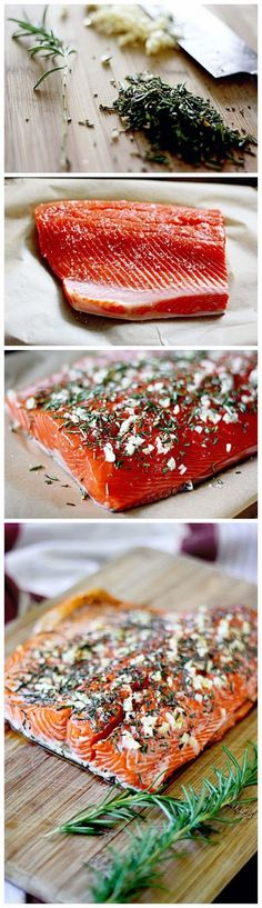 Rosemary and Garlic Roasted Salmon - Recipeez Blog