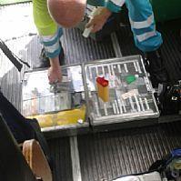 De loods is met de ambulance uit voorzorg naar het ziekenhuis gebracht. station Hansweert