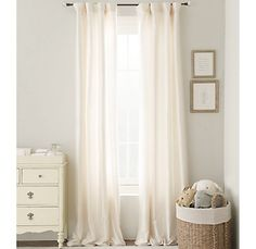 1000 images about children 39 s rooms on pinterest bunk for Restoration hardware silk curtains