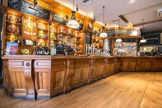 Located near to both Euston and King's Cross stations, the Euston Flyer is a traditional British pub owned by the Fuller's Brewery.