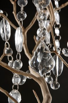 30 foot crystal garland 125 round crystals garlands acrylics hand strung crystal garland 63in aloadofball Image collections