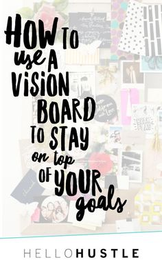 With the summer just about here, its the perfect time to reflect and refocus on your goals. At the beginning of almost every season, I like to sit down and set up a Vision Board and create a list of goals for that season. This summer I really want to foc