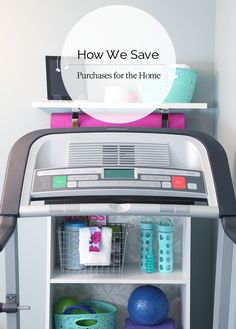 IHeart Organizing: How We Save On Purchases For The Home