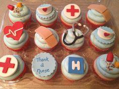 Nurse's Week Cupcakes