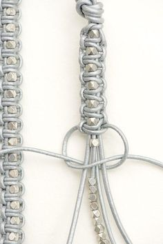 awesome Leather Bracelet #tutorial#diy#accessories @Kelsi @ Brighter Sides @ Brighter Si...