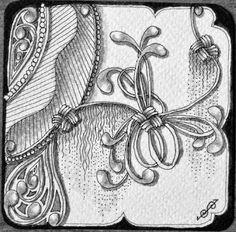 (2) Zentangle Doodle Art pictures. - Bilder Land
