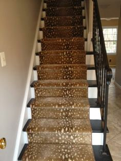 creative take on stairs | alison giese Interiors