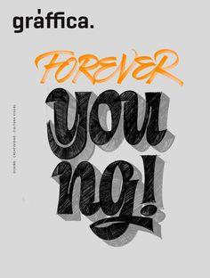 portada revista graffica 10 entera esbozo Typography, Lettering, Company Logo, Posters, Logos, My Style, Ideas, Design, Magazine Front Cover
