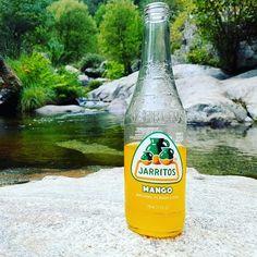 Todo un lujo el río Pelayo en Arenas de San Pedro para disfrutar de un día en la naturaleza y un Jarritos de mango! #jarritosporespaña #arenasdesanpedro #piscina #natural #mango #dulce #sabor #color #naturaleza #supergood #jarritos #rio #avila #verano2017