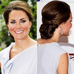 Amazing Wedding Updos from Every Angle - Kate Middleton from #InStyle