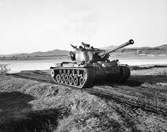 Photo of American M26 General Pershing tank