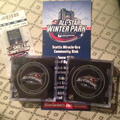 Columbus Blue Jackets All Star Game pucks