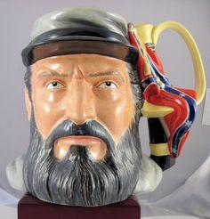"""Royal Doulton Character Jug """"Stonewall Jackson"""" - D7294"""