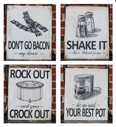 Decorative Wooden Kitchen Signs Extraordinary Guilty Of Singing All Of These Before I Even Found This Decorating Inspiration