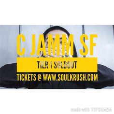 10/28 #cjamm #씨잼 #sanfrancisco Tier 2 Tickets: http://events.sparxo.com/cjammsf