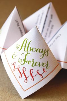 Wedding reception games to play with guests for every budget - wedding favour ideas (BridesMagazine.co.uk)