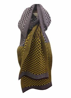 Sarah Elwick scarf. Lovely colours.