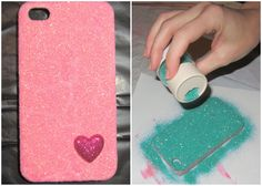 Glitter Cell Phone Case