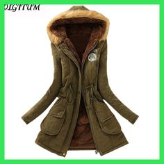 513e9c3e2a 2017 New Parkas Female Women Winter Coat Thickening Cotton Winter Jacket  Womens Outwear Parkas for Women