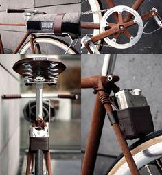 Dass Stahlrahmen-Bikes inzwischen als cool gelten, ist keine besondere Neuigkeit. Deshalb überrascht es auch nicht, wenn Lifestyle-Marken Ihr Image mit einem Stahlrahmenbike als Merchandizing-Produ...